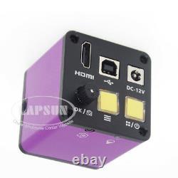1080p 16mp Hdmi Usb Vidéo Numérique Microscope Industriel Caméra Tf Video Recorder
