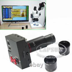 1080p 60fps Hdmi Hd Caméra D'oculaire Numérique Tf Pour Microscope Binoculaire Stéréo