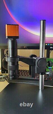 1080p 60fps Hdmi Microscope, Objectif, Appareil Photo Numérique, Et Support Pour Les Réparations De Téléphones