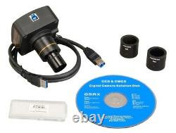 14m Pixel Digital Usb3.0 Microscope Camera Avec Logiciel Et Micromètre De Scène