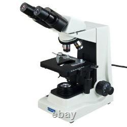1600x Brightfield & Turret Phase Contrast Plan Microscope+1.3mp Appareil Photo Numérique