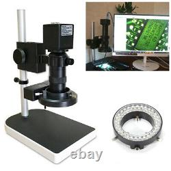 16mp 1080p 60fps Hdmi 180x Microscope Vidéo Industriel Caméra Numérique & Stand Uk
