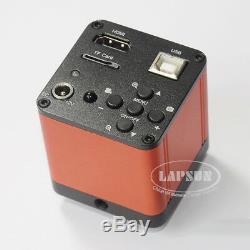 16mp 1080p 60fps Hdmi + Support C-industriel Usb Fhd Lab Microscope Appareil Photo Numérique