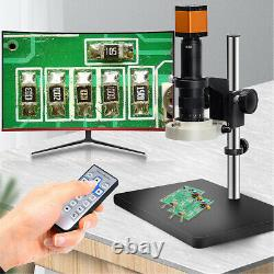16mp 1080p 60fps Hdmi Usb 180x Industrial Video Microscope Appareil Photo Numérique