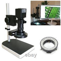 16mp 1080p 60fps Hdmi Usb Industrial 180x C-mount Lens Microscope Appareil Photo Numérique