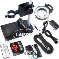 16mp 1080p 60fps Hdmi Usb Microscope Fhd Industriel Appareil Photo Numérique + 100x Objectif