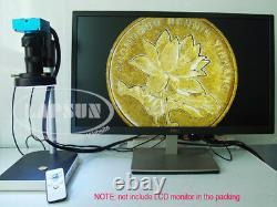 16mp Hdmi 1080p 60fps Usb Microscope Industrial Appareil Photo Numérique Avec Zoom Optique 100x