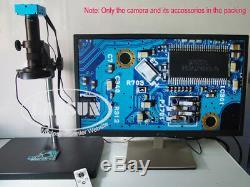 16mp Hdmi 1080p 60fps Usb Microscope Industrial Appareil Photo Numérique Avec Zoom Optique 180x