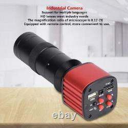 16mp Hdmi 1080p Hd Vidéo Usb Microscope Industrial Appareil Photo Numérique Avec Objectif 100x