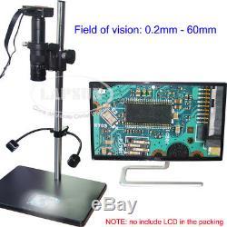 16mp Hdmi Hd 1080p 60fps Grand Champ Industriel Monture C Microscope Appareil Photo Numérique