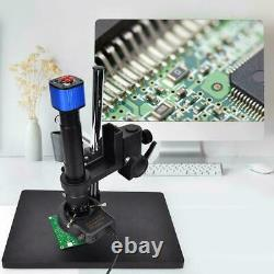 16mp Hdmi Usb Industrial Microscope Digital Camera + 0.7-4.5x Zoom Lens+ Support