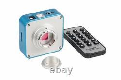 16mp Microscope Optique Numérique Hdmi Usb Caméra CCD Industriel Objectif 0,5x Cmount