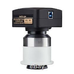 16mp Usb3.0 Appareil Photo Numérique Avec Adaptateur 0.55x Pour Nikon Microscopes
