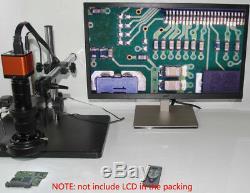 180x 16mp Hdmi 1080p 60fps Usb Industrielle Monture C Objectif Microscope Appareil Photo Numérique