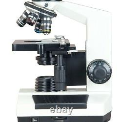 2000x Microscope Numérique Binoculaire Composé De Laboratoire 9mp W Étape Mécanique