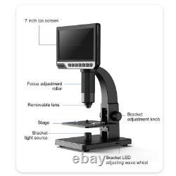 2000x Microscope Numérique Pour Outil D'amplification Électronique Continue À Souder