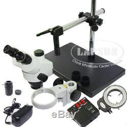 200x 1080p 60fps Appareil Photo Numérique Hdmi + Simul-focale Stéréomicroscope Trinoculaire