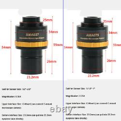 20mp 1 Sony Imx183 Usb 3.0 Caméra De Microscope Vidéo Biologique CCD + Relay Lens