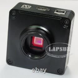 21mp 1080p 60fps Industrielle Hdmi Usb Fhd Monture C Microscope Appareil Photo Numérique Nouveau