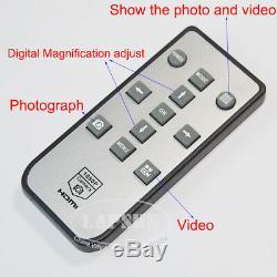 21mp Hdmi 1080p 60fps Usb Fhd Industrial C-mount Microscope LCD Appareil Photo Numérique