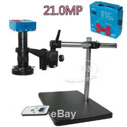 21mp Hdmi 1080p 60fps Usb Microscope Industrial Appareil Photo Numérique Avec Zoom Optique 180x