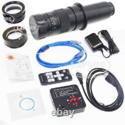 2k 1080p 60fps 21.0mp Hdmi Caméra Numérique De Microscope Industriel Usb + 360x