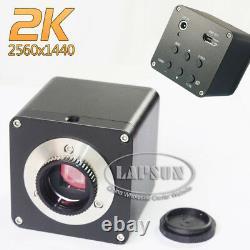 2k Hdhd Hdmi 1080p@60fps Microscope Industriel Fhd Caméra Vidéo Numérique C Monture