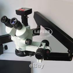 3.5-90x Simul-focale Microscope Stéréo Trinoculaire 1080p 60fps Appareil Photo Numérique Hdmi