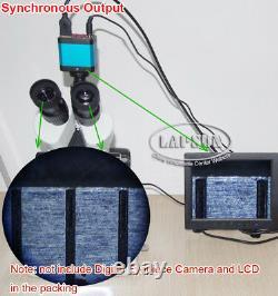 3.5x 225x Microscope Trinoculaire Trinoculaire Simul-focal Pour Appareil Photo Optique Numérique
