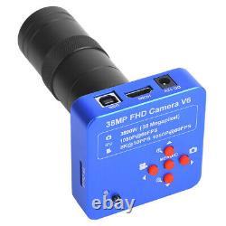 38mp 1080p 60fps Hdmi Usb 100x C-mount Caméra Numérique De Microscope Industriel
