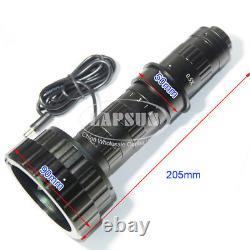 3d Stéréo & 2d 200x Zoom C-mount Lens Led F Caméra Numérique De Microscope Industriel