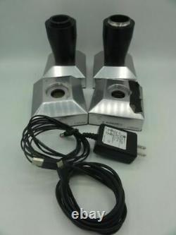 (4) Caméras De Microscope Opus 1 Foveon, Une Avec Cordon D'alimentation, 2 Avec Pince Bmx Ou P