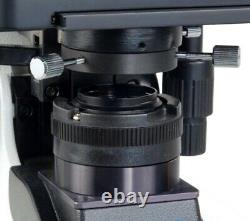 40-2000x Darkfield Brightfield Kohler 3w Led Microscope+5.0mp Caméra Usb Numérique