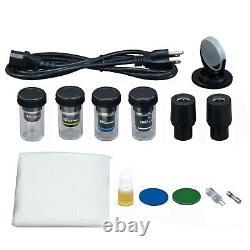 40x-1000x Composé Binoculaire Darkfield Microscope Numérique De Sang Vivant 9mp