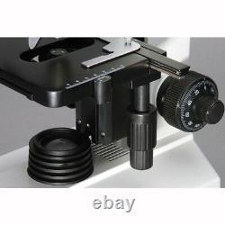 40x-1000x Doctor Clinique Vétérinaire Microscope Composé Trinoculaire Biologique + H