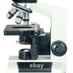 40x-1000x Phase Contraste Binoculaire Composé De Laboratoire 1.3mp Microscope Numérique