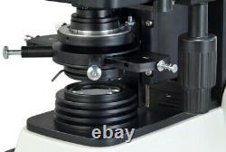 40x-1600x Brightfield &phase Contrast Siedentopf Microscope+1.3mp Appareil Photo Numérique