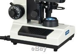 40x-1600x Composé Trinocular Lab Led Microscope + Replaceable 5mp Appareil Photo Numérique