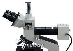 40x-1600x Metallurgical Trinoculaire Microscope Composé + 9mp Appareil Photo Numérique
