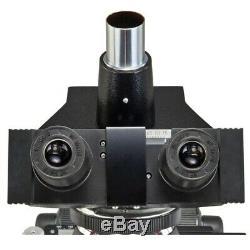 40x-2000x Contraste De Phase Led Trinocular Composé Microscope + 1.3mp Appareil Photo Numérique