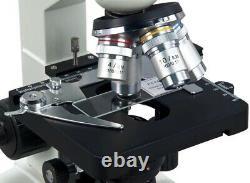 40x-2000x Intégré 1.3mp Digital Camera Monocular Compound Led Microscope