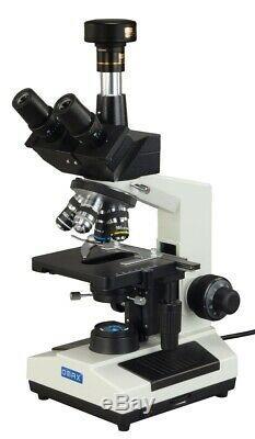 40x-2000x Trinoculaire Led Composé Laboratoire Darkfield Microscope + 9.0mp Appareil Photo Numérique
