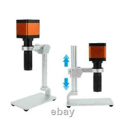 48mp Hd Digital Zoom Industrie Vidéo Microscope Caméra Set Kit C-mount Lentille