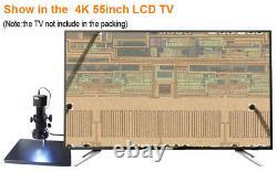 4k Uhd Hdmi 1080p@60fps Fhd Industrial Microscope Digital Video Camera C Mount