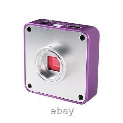 51mp 1080p Fhd Digital Microscope 180x C-mount Lens Hdmi Usb Pour La Réparation De Téléphone