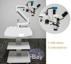 5w Led Chirurgie Ophtalmique Microscope Avec Fonctionnement Clip Appareil Photo Numérique Sur Le Panier