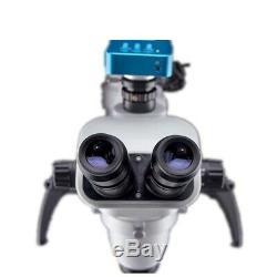 5w Led Ent Chirurgie Ophtalmique Microscope Portable De Fonctionnement Avec Appareil Photo Numérique