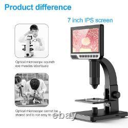 7'' Écran Digital Soudering Microscope Cam Pour Réparer L'amplification Continue