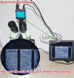 7x 112.5x Microscope Trinoculaire Trinoculaire Simul-focal Pour Appareil Photo Optique Numérique