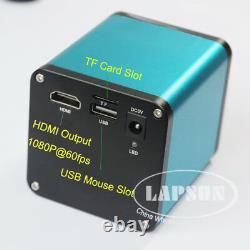 7x-45x Zoom Simul-focal Stéréo Trinoculaire 1080p Hdmi Caméra De Microscope Numérique